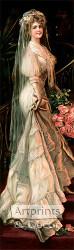 The Happy Bride - Art Print