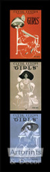 Girls, Girls, Girls - Art Print