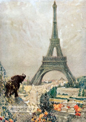 The Eiffel Tower - Art Print