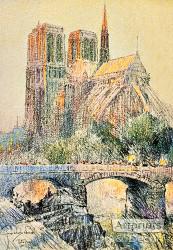 Notre Dame - Art Print