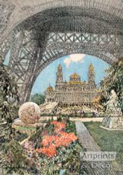 The Trocadero - Art Print