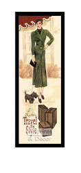 Ladies Travel in Style - Framed Art Print