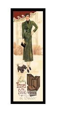 Ladies Travel in Style - Framed Art Print