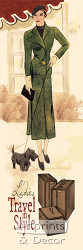 Ladies Travel in Style - Art Print