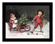 Christmas Greetings - Framed Art Print