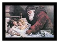 The Christmas Letter - Framed Art Print