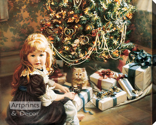 Christmas Day by Sandra Kuck - Stretched Canvas Art Print