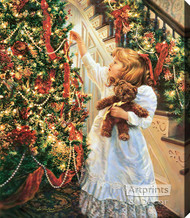 Night Before Christmas by Sandra Kuck - Stretched Canvas Art Print