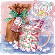 Hot Chocolate (Christmas Style) - Art Print