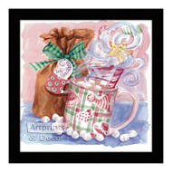 Hot Chocolate (Christmas Style) - Framed Art Print