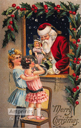 Merry Christmas - Art Print