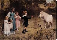 A Tempting Bait by Arthur J. Elsley - Stretched Canvas Art Print