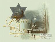Peace & Joy Come To You - Art Print