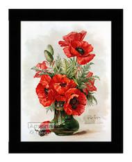 Poppies II - Framed Art Print