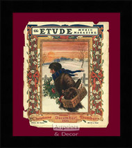 The Etude Music Magazine - Framed Art Print
