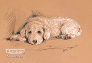 Poodle by Lucy Dawson - Art Print