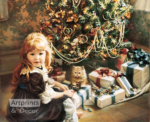 Christmas Day by Sandra Kuck - Framed Art Print