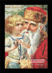 A Merry Christmas II - Framed Art Print