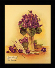 Violets - Framed Art Print
