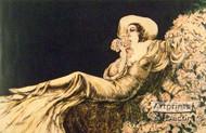 Dreaming in Pink by Louis Icart - Art Print