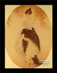La Lettre - Framed Art Print