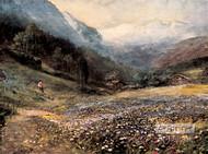 The Mountain Meadow - Art Print