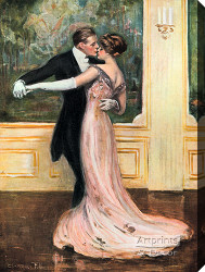 The Last Dance by Clarence Underwood - Stretched Canvas Art Print