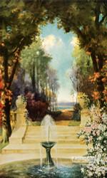 Floral Gardens by Leon Dore - Art Print