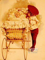 First Outing by Maud Humphrey - Art Print