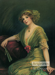 Carreen by C. Allen Gilbert - Art Print