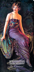 Diana by C. Allen Gilbert - Stretched Canvas Art Print