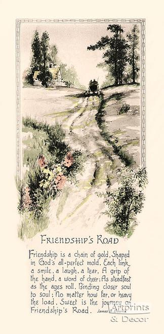 Friendship's Road - Art Print