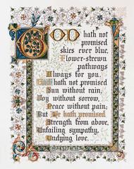 He Hath Promised - Art Print