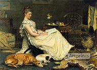 Cosy by Charles Burton Barber - Art Print