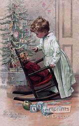 Did Santa Claus Bring You? - Art Print