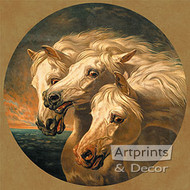 Pharaoh's Horses by J.F. Herring - Art Print