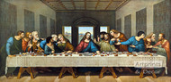 The Last Supper by Leonardo Da Vinci - Art Print
