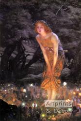 Midsummer Eve by Edward R. Hughes - Art Print