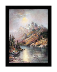Monuments of Time - Framed Art Print