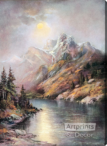 Monuments of Time by William Henry Chandler - Stretched Canvas Art Print