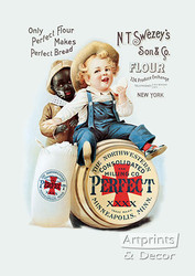 Perfect Flour - Vintage Ad Art Print