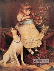 The Broken String by C. Burton Barber - Art Print