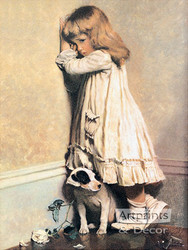 In Disgrace by C. Burton Barber - Art Print