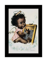 Washboard Blues - Framed Art Print