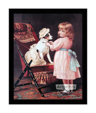 How like Grandma - Framed Art Print