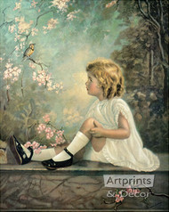 Song of the Lark by Florence Lindsey - Art Print