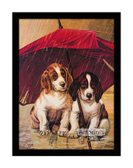 A Rainy Day - Framed Art Print