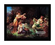 Fairy Play - Framed Art Print