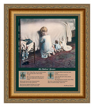 Hear My Dollies' Prayer - Framed Art Print