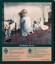 Hear My Dollies' Prayer by Mary Sigsbee Ker - Stretched Canvas Art Print